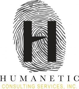Humanetic Finger Print Logo